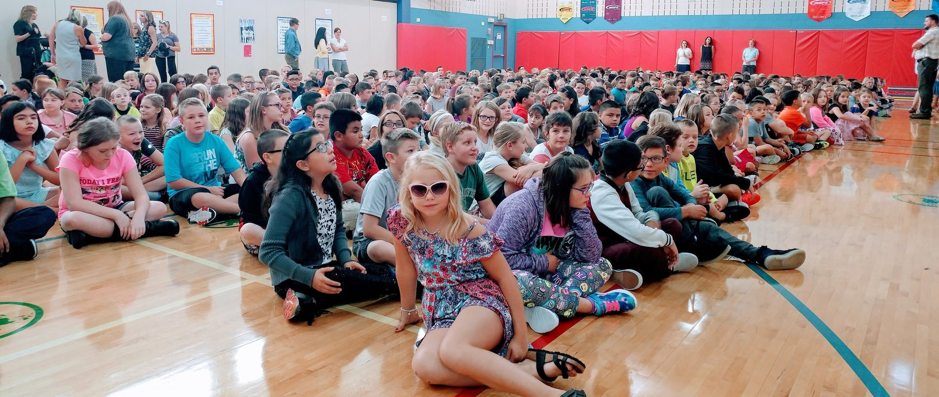 First Day Assembly at BEES