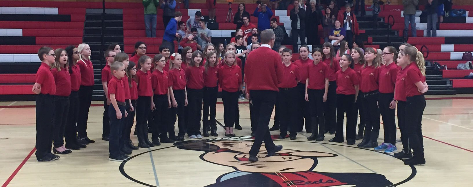 BeeBops choir performs at EHS