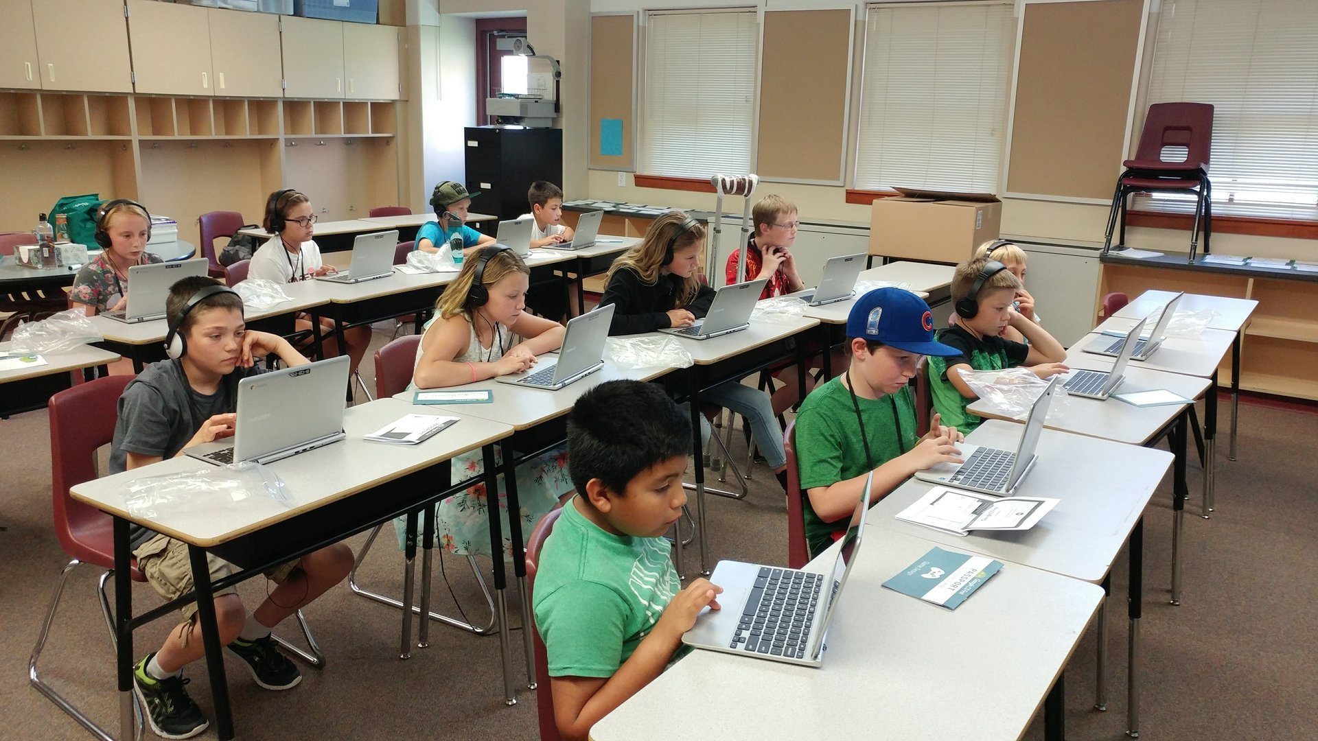 Camp Invention Students Learn to Code