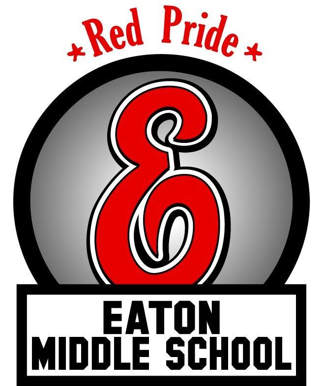 Eaton Middle School - Red Pride logo