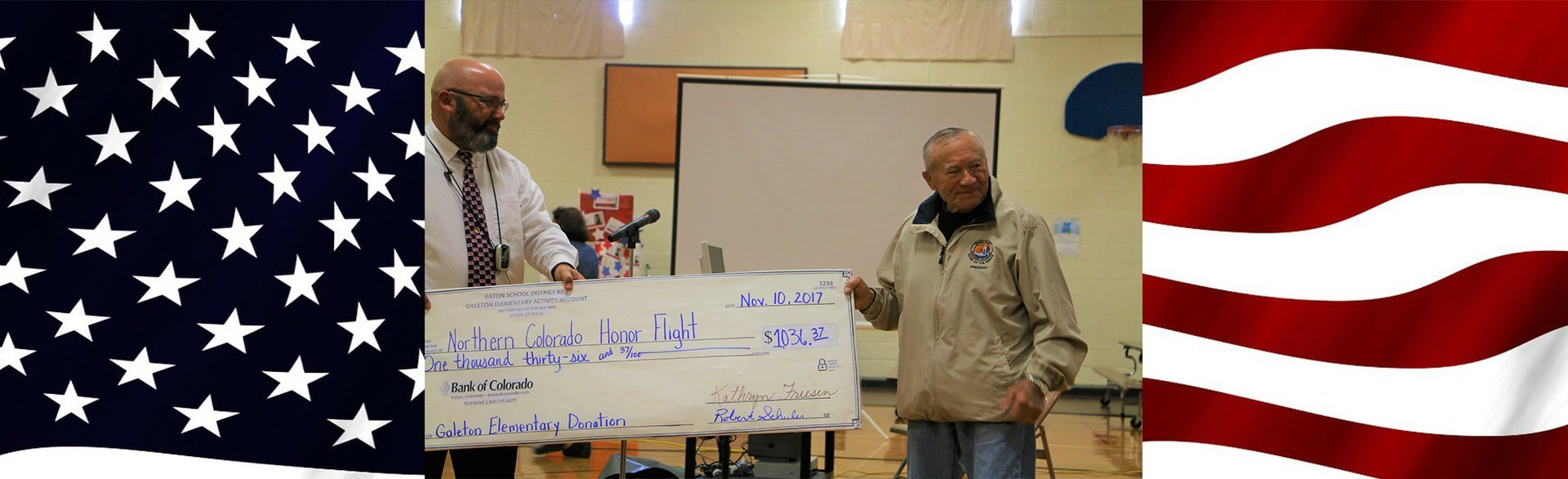 Northen Colorado Honor Flight Donation