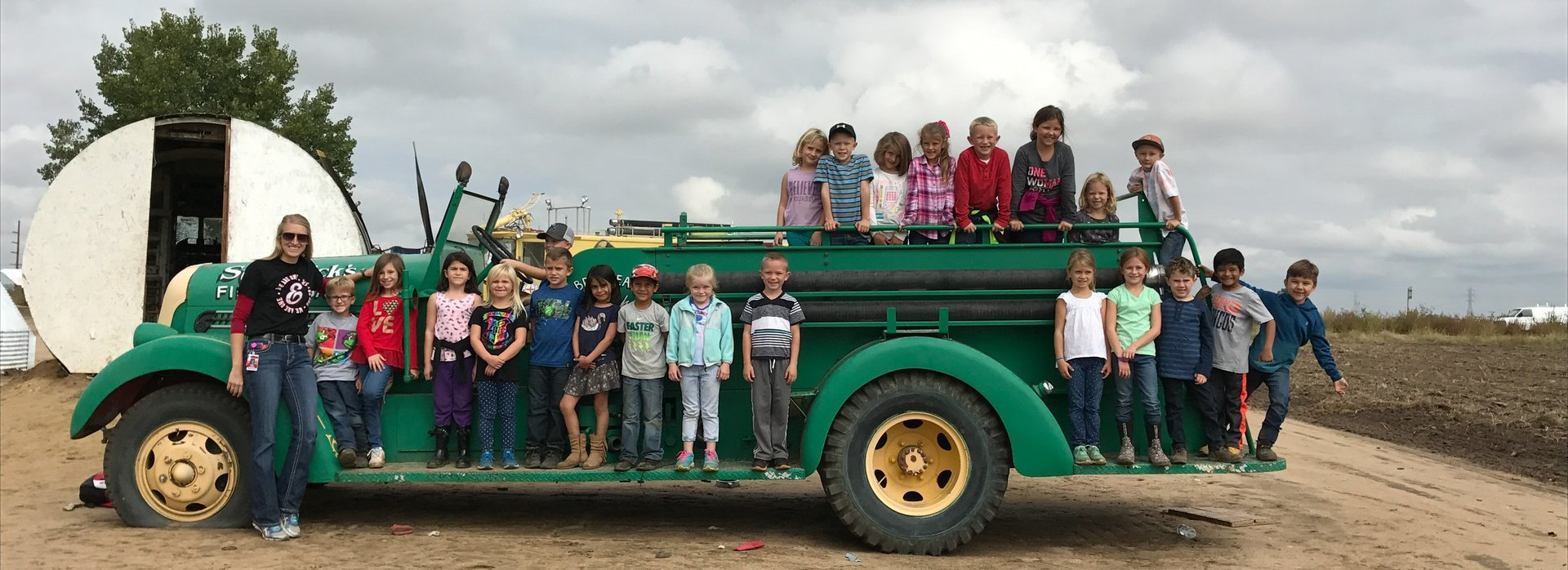 1st Grade Field trip to Miller Farms
