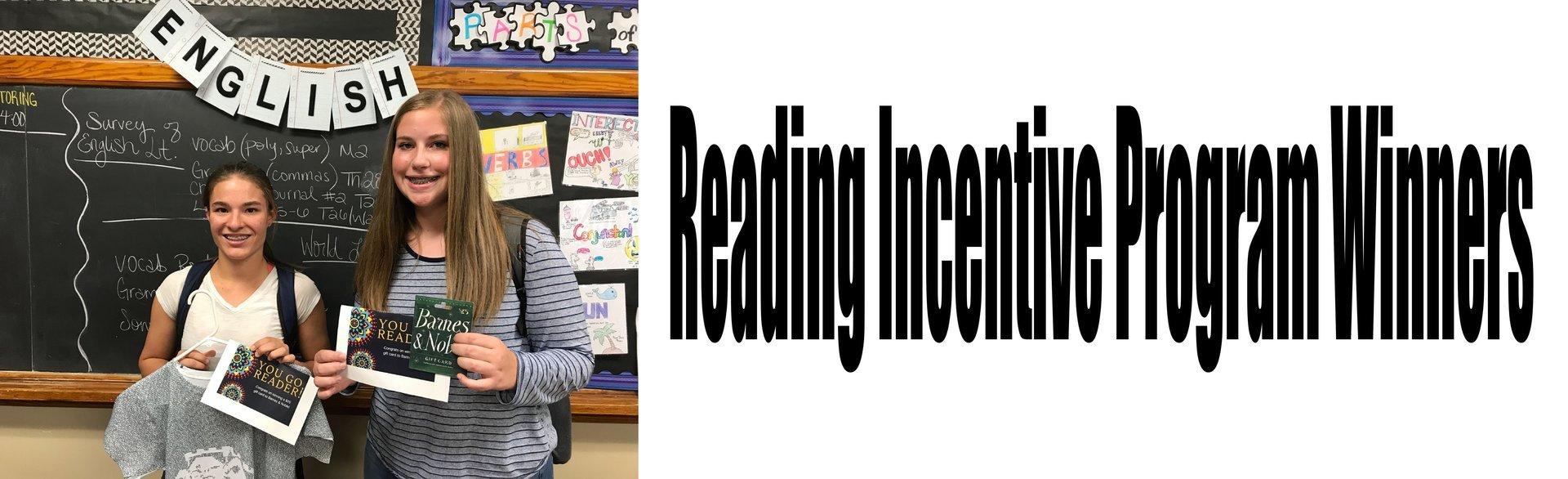 English Incentive Program Winners