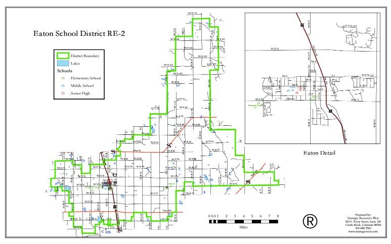 Eaton District Boundaries