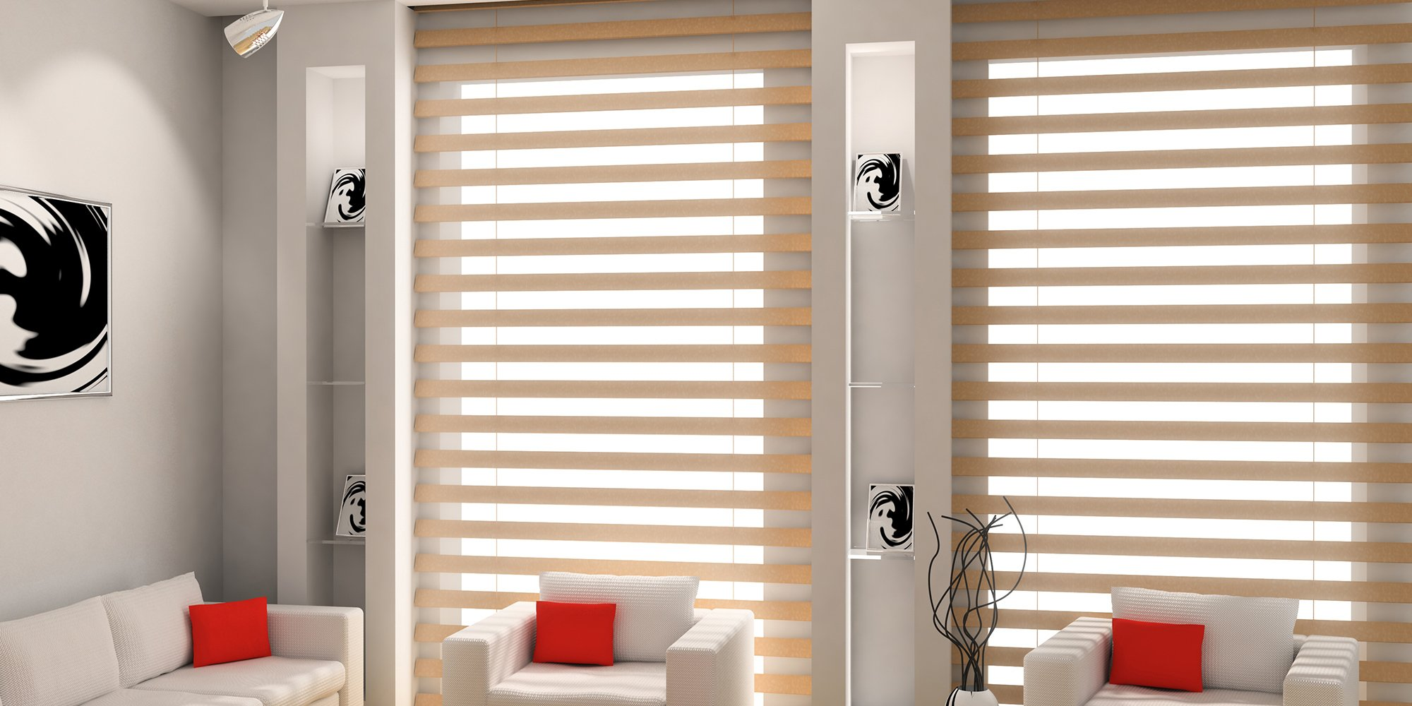 High quality blinds installed by Direct Factory Blinds Ltd
