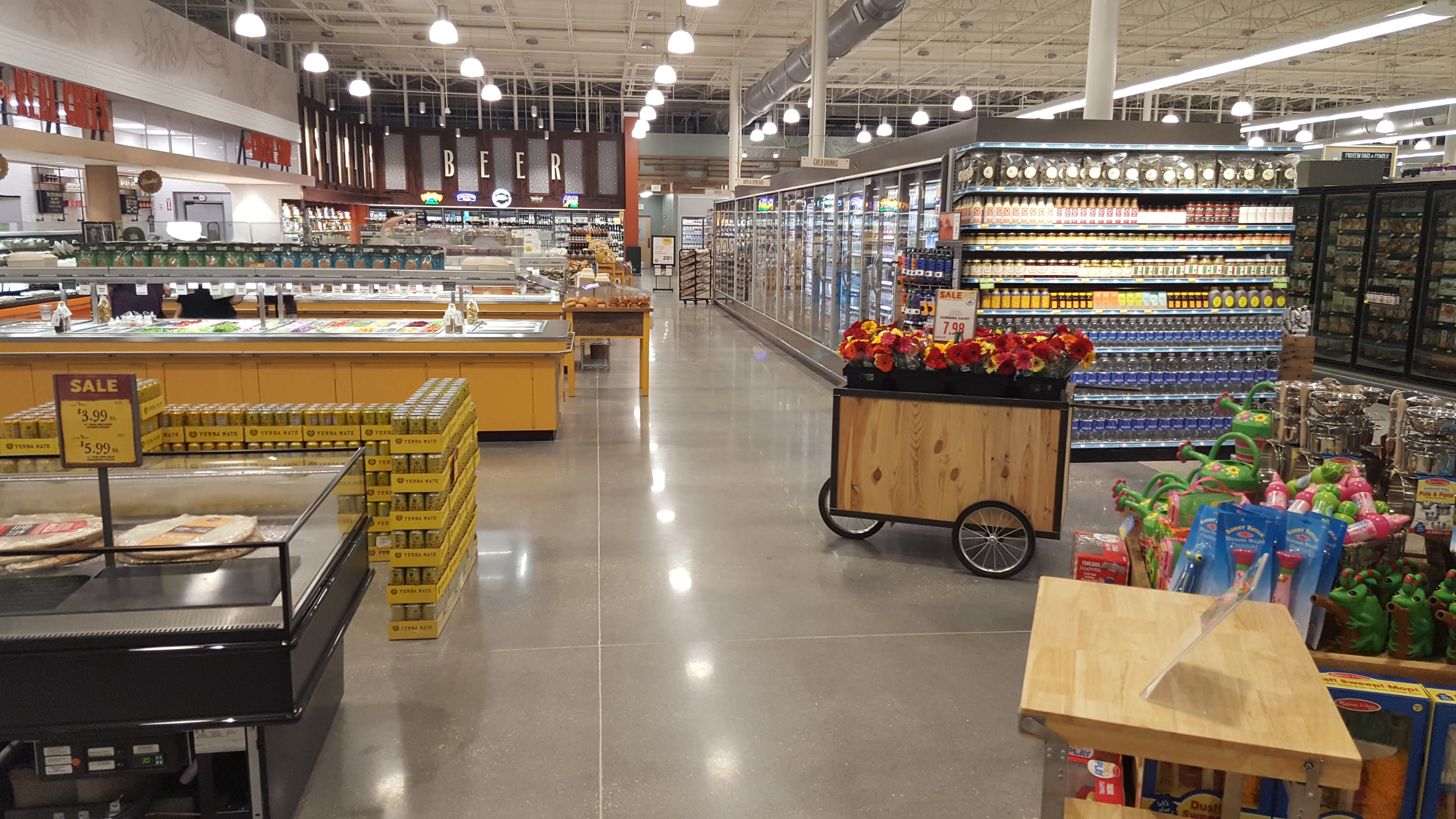 Grocery Store Commercial Janitorial Services Houston, TX
