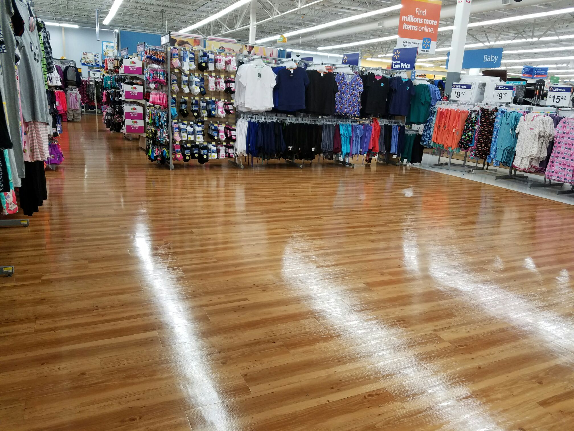 Clothing Store Commercial Janitorial Services Houston, TX