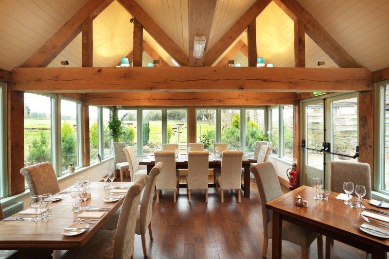 The Conservatory Restaurant at the George Inn, Sandy Lane, Chippenham