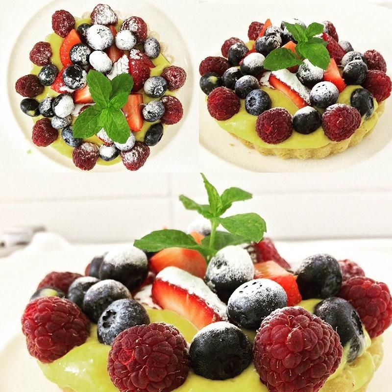 crostatina frutti di bosco