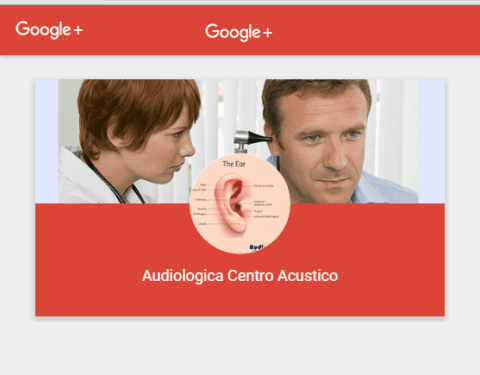 Audiologica Avellino Google Plus