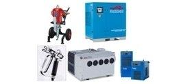 impianti ad aria compressa, motocompressori, pompe