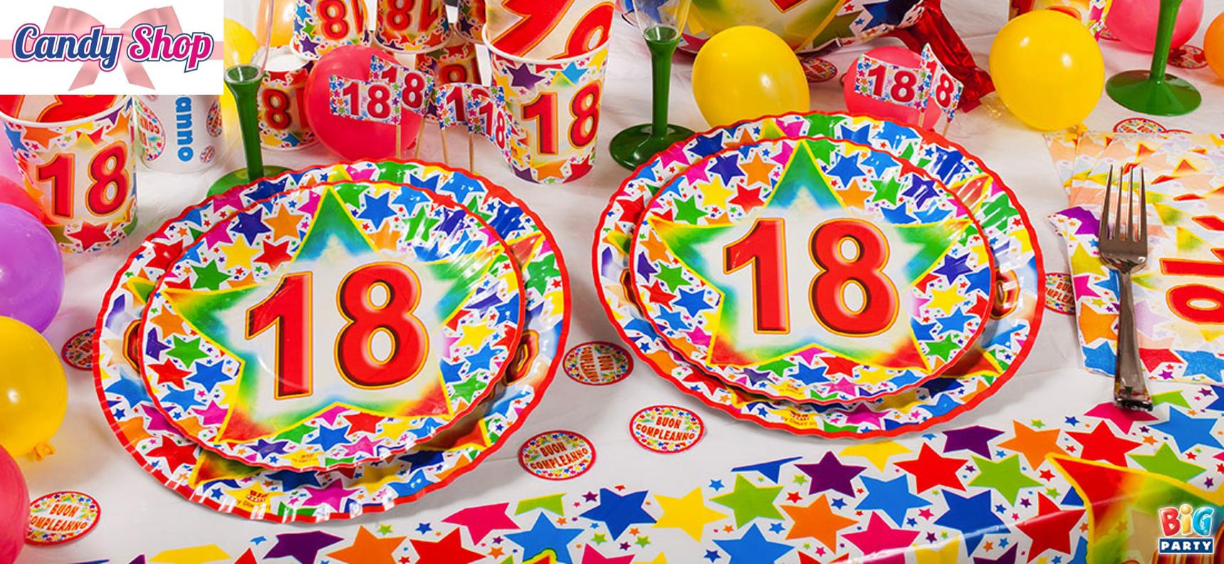 Addobbi per  Party  e feste Candy Shop Torino