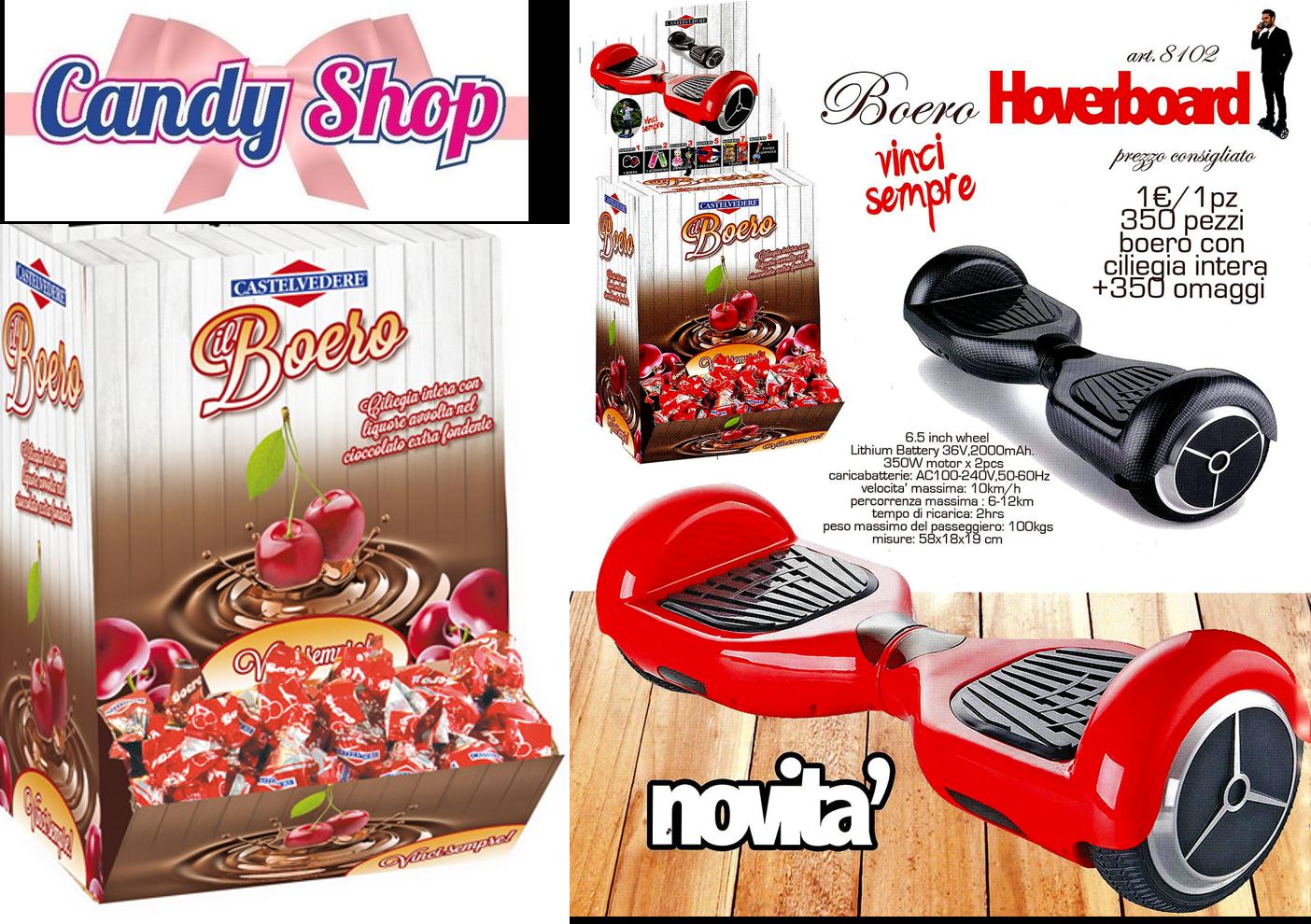 Cioccolatini BOERO - Candy Shop Torino
