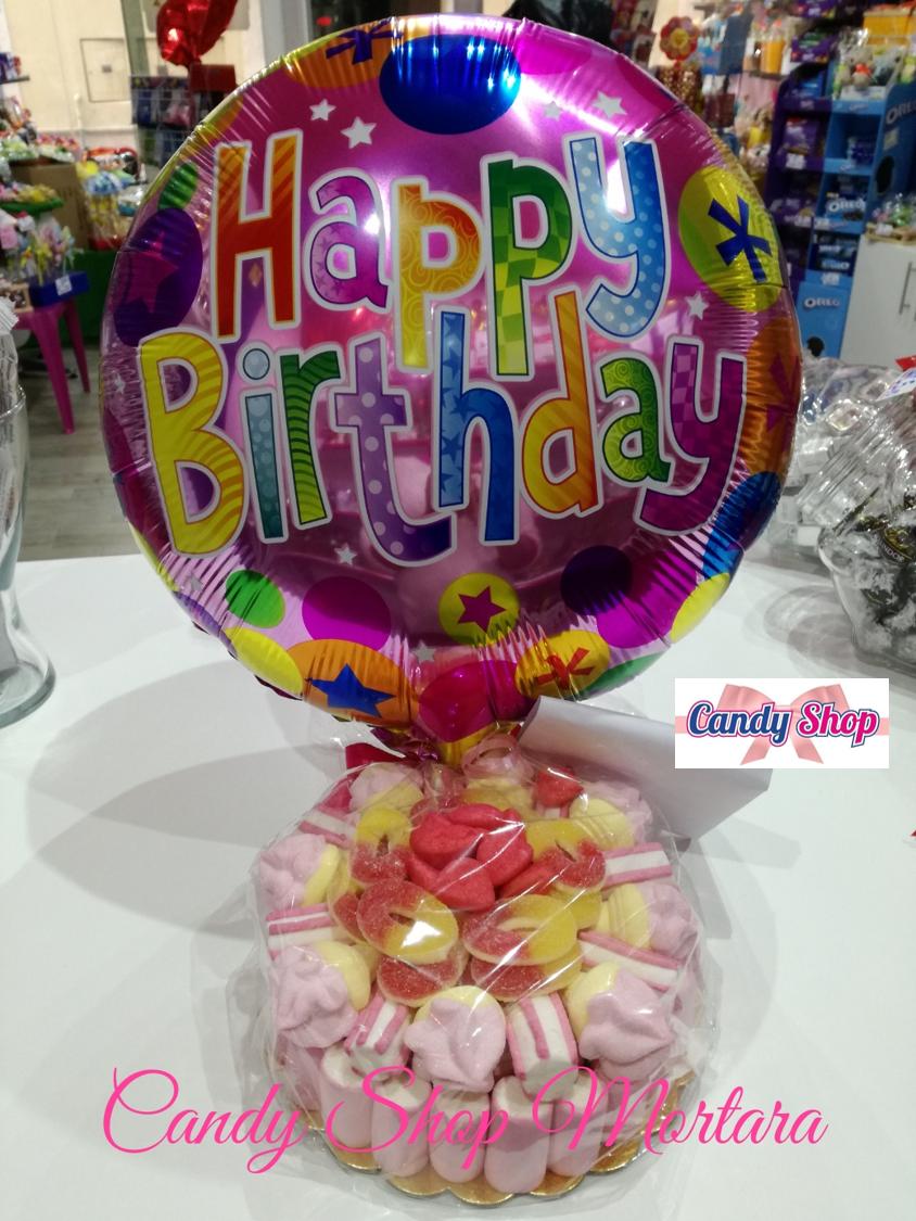 Confezioni regalo palloncini Candy Shop Torino