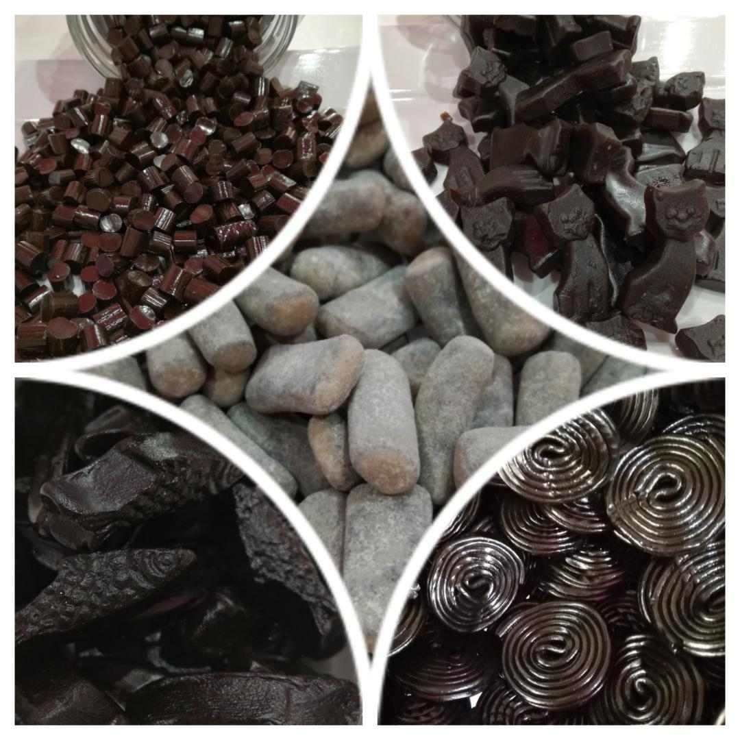 ruote di liquirizia presso Candy Shop a Mortara