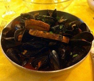 pepata di cozze, ristorante, specialità di pesce