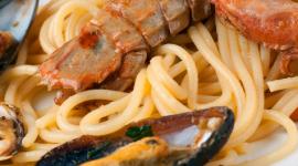 spaghetti di mare, spaghetti allo scoglio, linguine allo scoglio