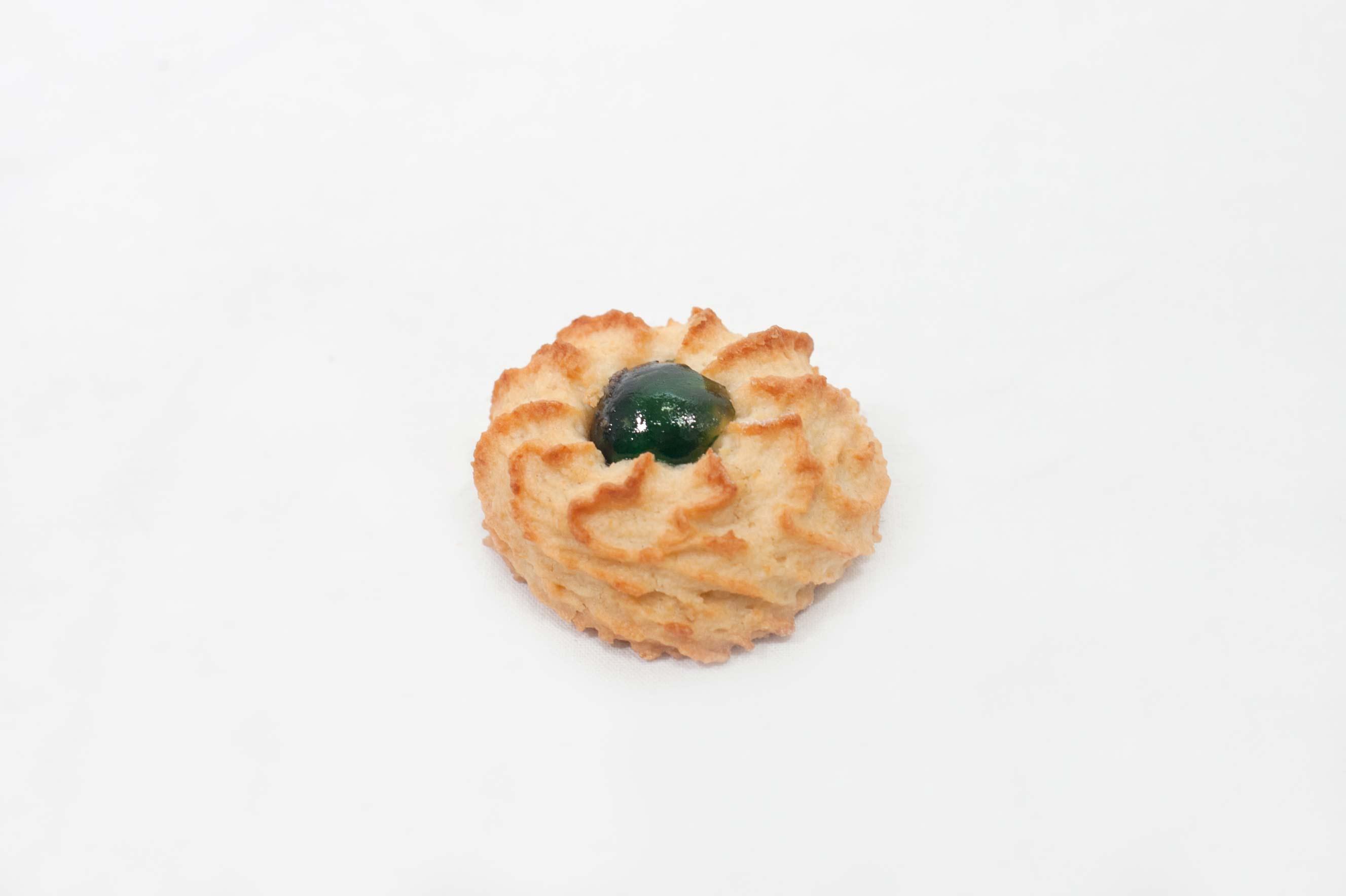biscotto verde alla mandorla