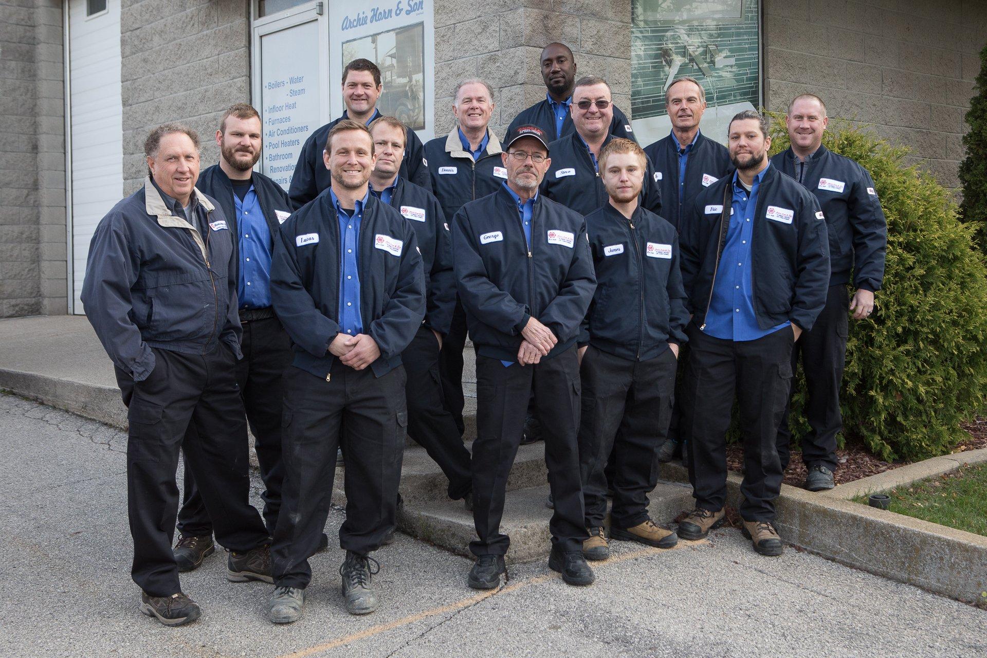 Hamilton Plumber Plumbing Amp Hvac Services Archie Horn