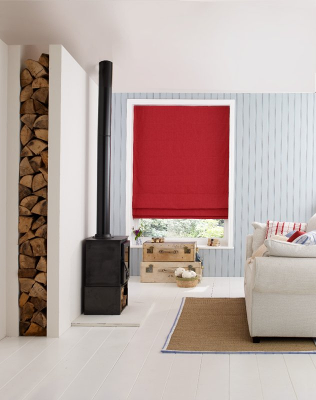 CHAMBRAY RUBY BLINDS