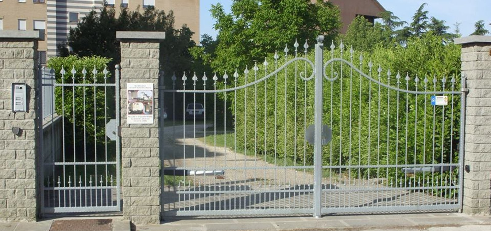 cancelli in ferro battuto VIterbo
