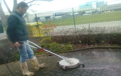 Idropulizia pavimenti esterni