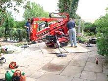 Our portable cherry picker