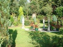 A beautiful ornate garden