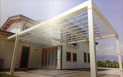 Installazione tettoie