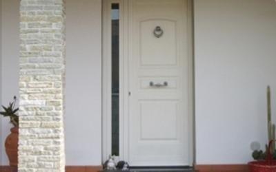 Porte da ingresso in alluminio