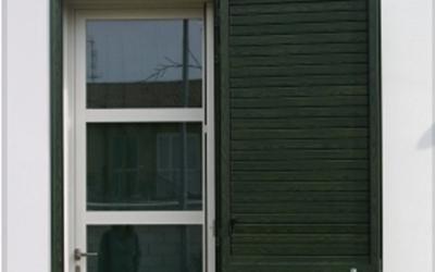 Porte finestre con traversi