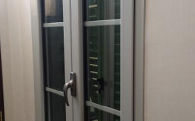 Finestra con traversi interni al vetro