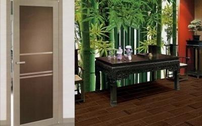 Porte da interno in legno listellare