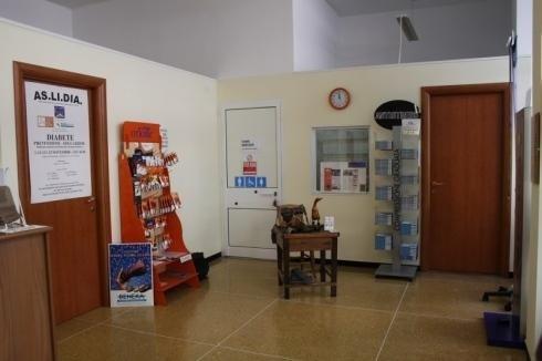 Presso il negozio di Genova sono in vendita articoli ortopedici per diabetici
