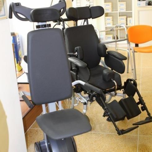 Presso il negozio di Genova si vendono carrozzine per i disabili