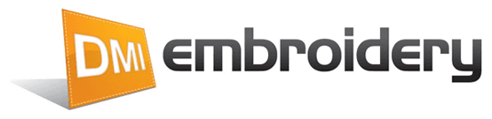 DMI embroidery logo
