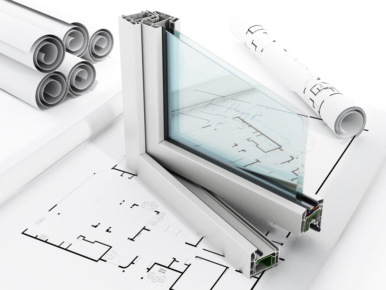 modello di infisso a doppio vetro