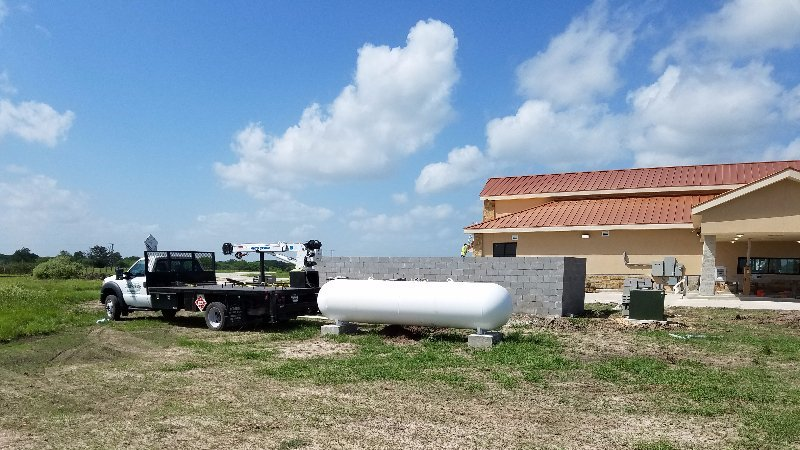 Tank Installation & Propane Services in Bryan TX - J & B Propane