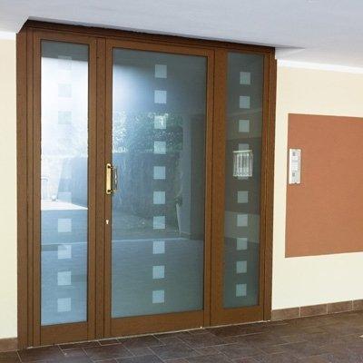 Produzione portoni condomini - Torino - AAA Edil Serramenti srl