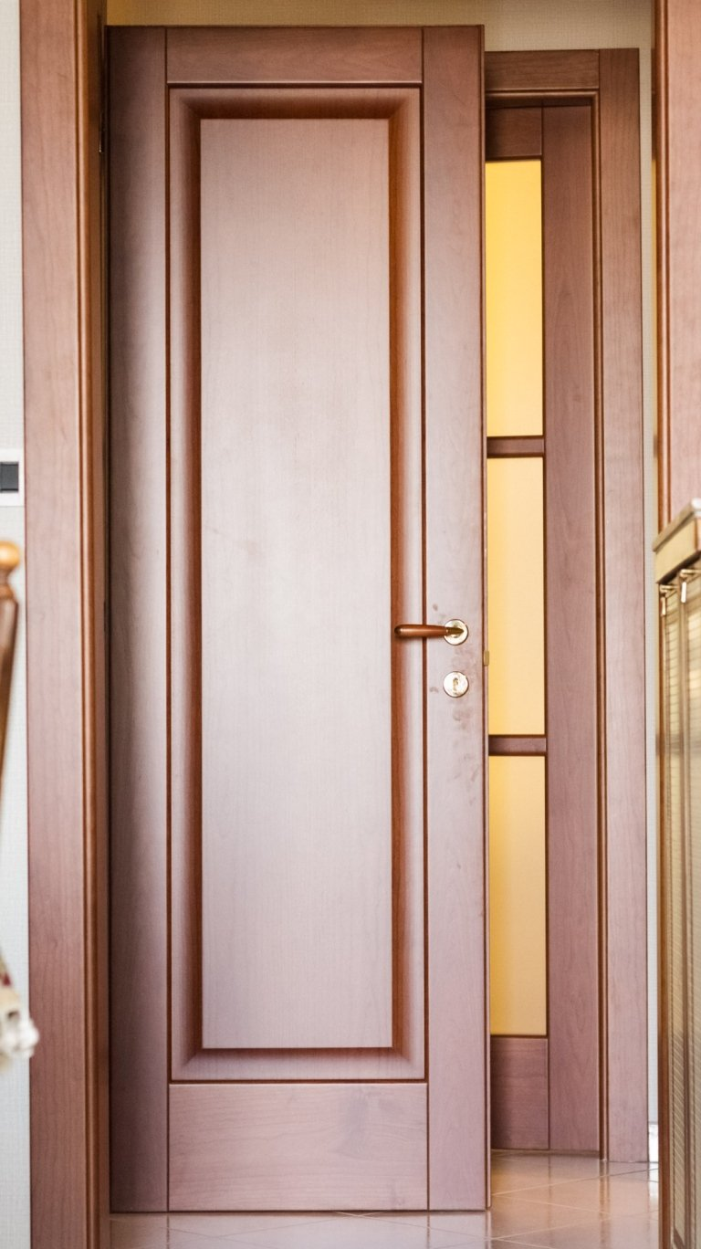 porta interno legno pino