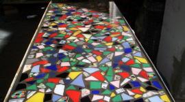 pavimenti colorati, pavimenti su misura, trattamento vetroresina