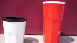 cestini in vetroresina, prodotti plastici, materie plastiche