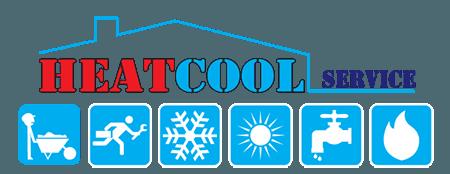 HEAT COOL SERVICE - LOGO