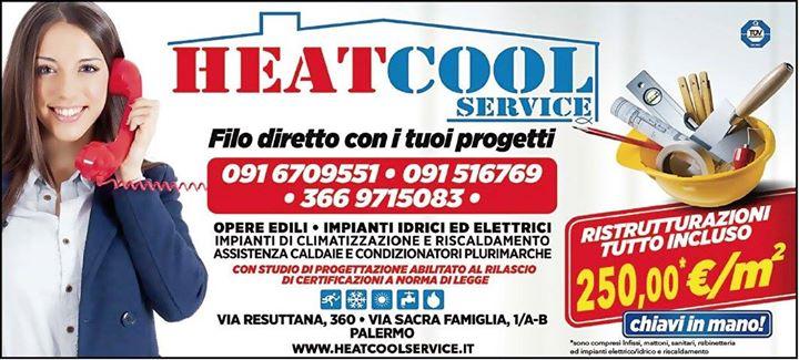 volantino promozionale heatcool service