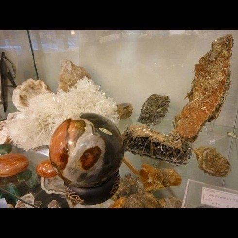 pietra acquamarina sfera di diaspro oceanico