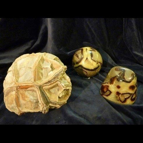 pietra zolfo e malachite pietra septaria