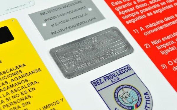 Produzione targhe di identificazione