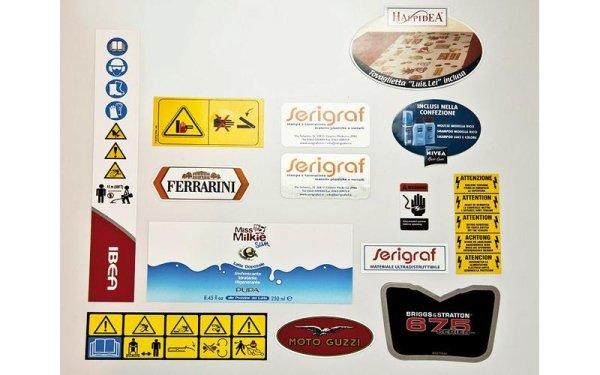 Produzione etichette autoadesive