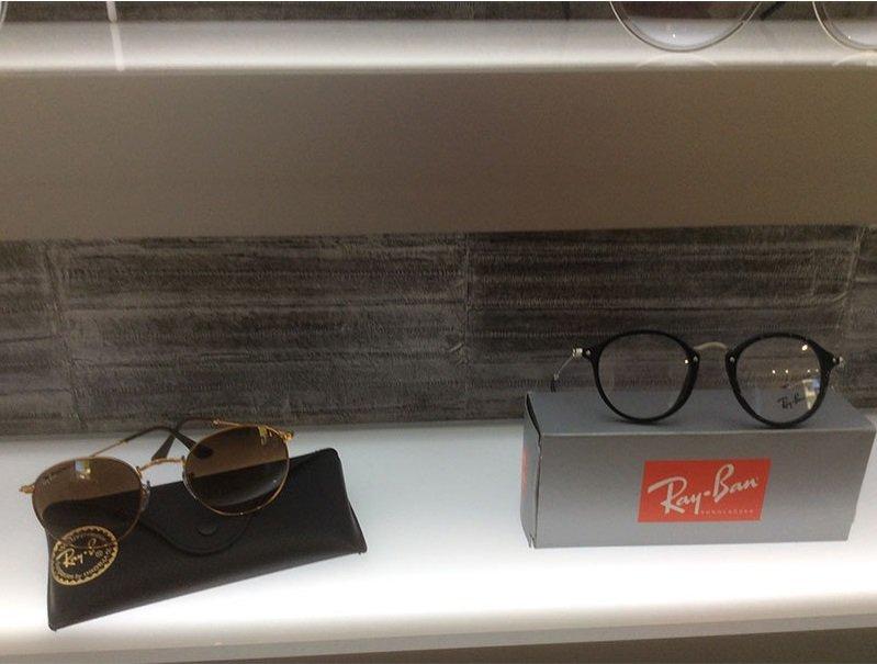 degli occhiali da sole e da vista della marcs Rayban