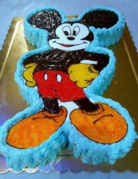 torta a forma di topolino